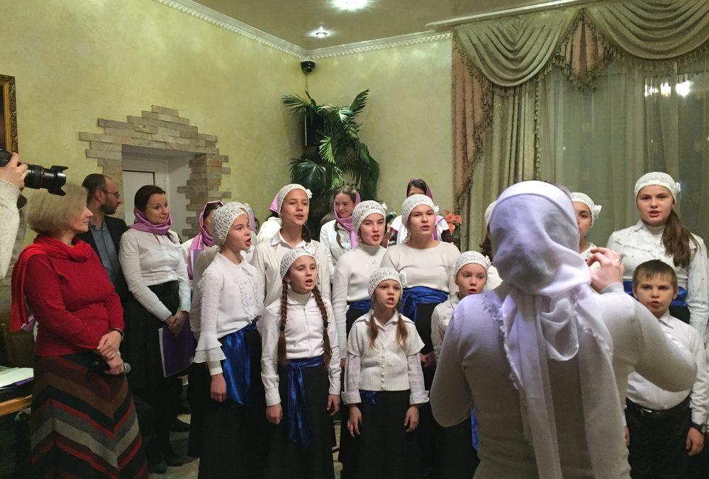 В храме св. апостола Андрея Первозванного