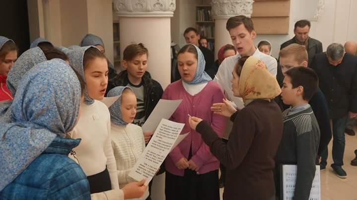 Заупокійна літургія в Андріє – Володимирському храмі