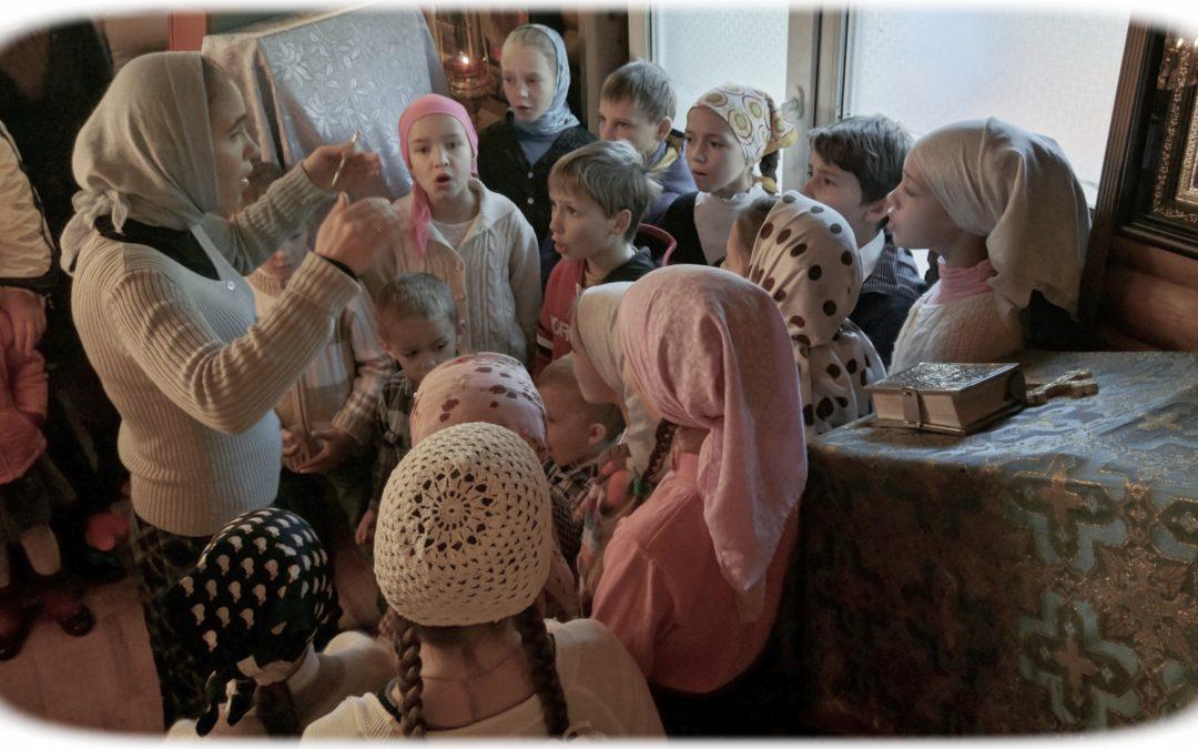 Литургия в день памяти Преподобных Сергия Радонежского и Досифеи Киевской