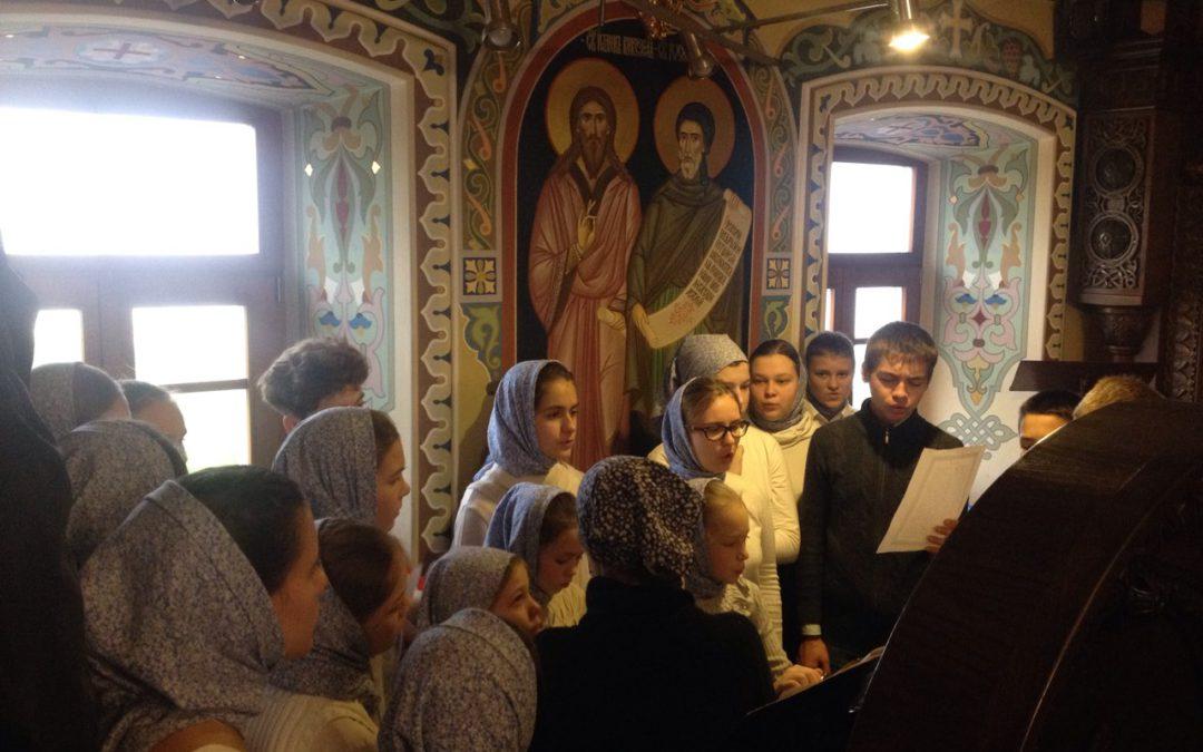 Літургія в Києво-Печерській Лаврі