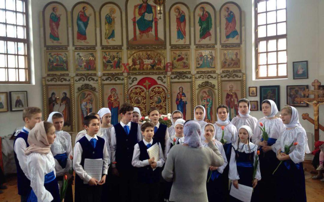 Літургія в храмі Святителя Миколая в місті Українка
