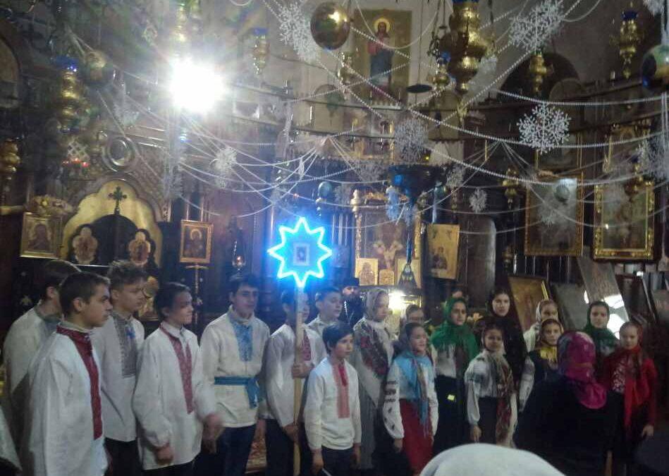 Фестиваль колядок у храмі свт. Михаїла, першого митрополита Київського