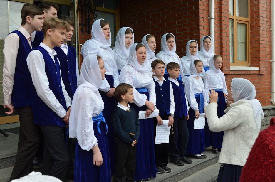 Участь у привітанні Блаженнішого Митрополита Київського і всієї України Онуфрія з Великоднем дітей з функціональними обмеженнями